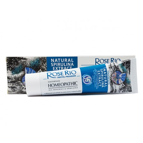 Toothpaste with Sea Minerals and Spirulina, 65 ml