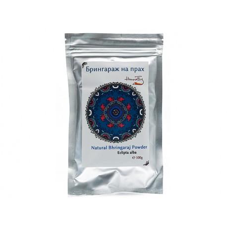 Natural Bringaraj powder, HennaFox, 100 g