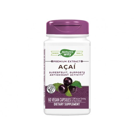 Acai, metabolism booster, Nature's Way, 60 capsules