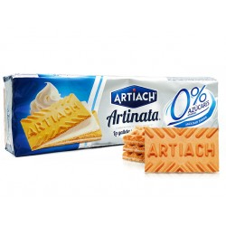 Artinata, waffle biscuits with cream, sugar free, Artiach, 175 g