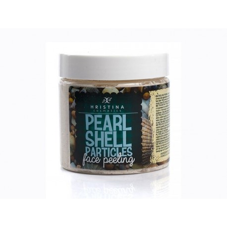 Pearl Shell Particles, Face Peeling, Hristina, 200 ml
