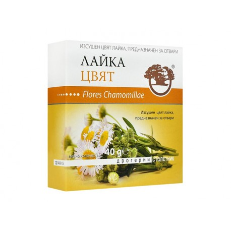 Chamomile (Flores Chamomilae), dried flowers, 40 g