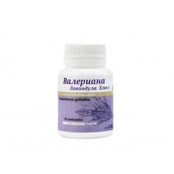 Valerian, Hops, Lavender, nervous system support, Niksen, 50 tablets