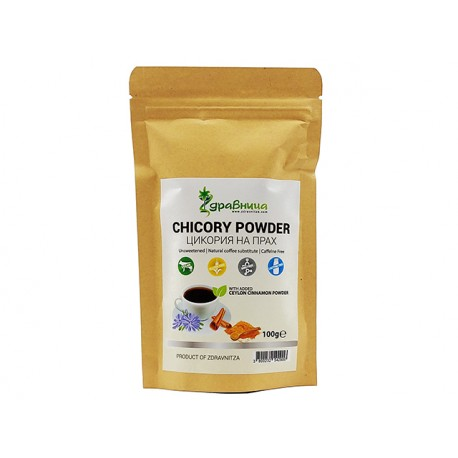 Chicory with Ceylon cinnamon, coffee substitute, Zdravnitza, 100 g