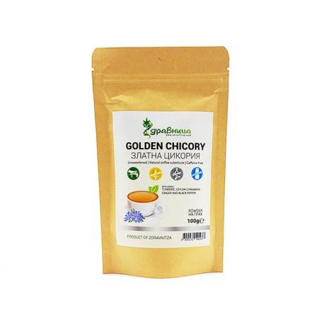 Златна цикория, на прах, заместител на кафето, Здравница, 100 гр.