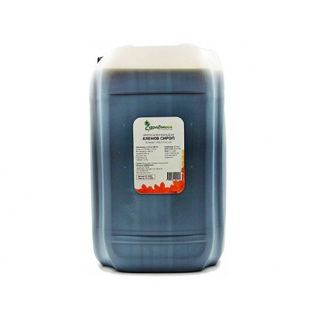 Оригинален канадски кленов сироп, Здравница, 25 литра