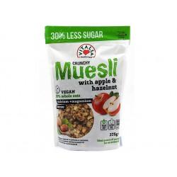 Crunchy Muesli with applle and hazelnut, Vitalia, 375 g