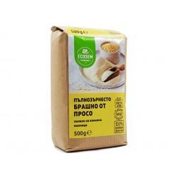 Wholemeal millet flour, Ecosem, 500 g