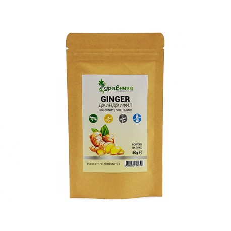Ginger, powder, Zdravnitza, 50 g
