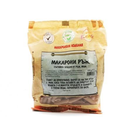 Rye Macaroni, Kramas, 250 g