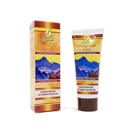 Himalayan active balm with mumio, FitoAkcent, 75 ml