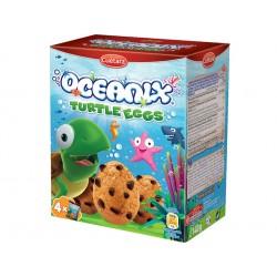 Oceanix turtle eggs, choco chips biscuits, Cuetara, 140 g