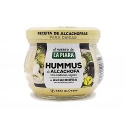 Hummus with artichoke and black olives, La Piara, 180 g