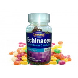 Echinacea + vitamin C and zinc for children