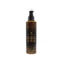 Golden Sun Tanning oil with golden dust, Hristina, 200 ml