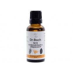 Communication and confidence, Dr. Bach flower elixir №15, Jo&Jo, 30ml