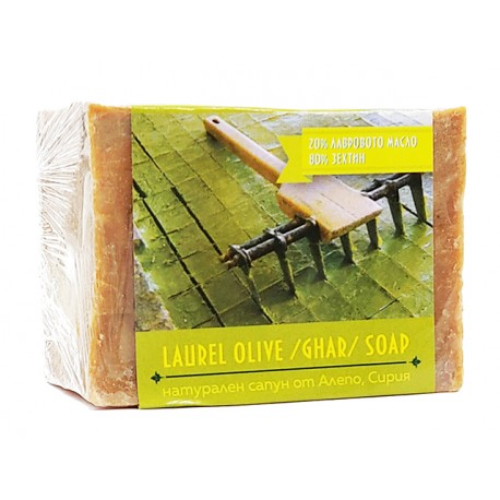 Aleppo, Natural Soap from Syria with olive laurel oil, 220-240 g