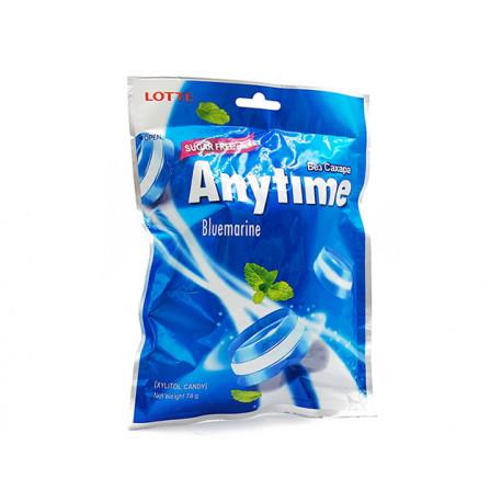 Anytime Твърди бонбони, ледена мента, без захар, 74 гр.