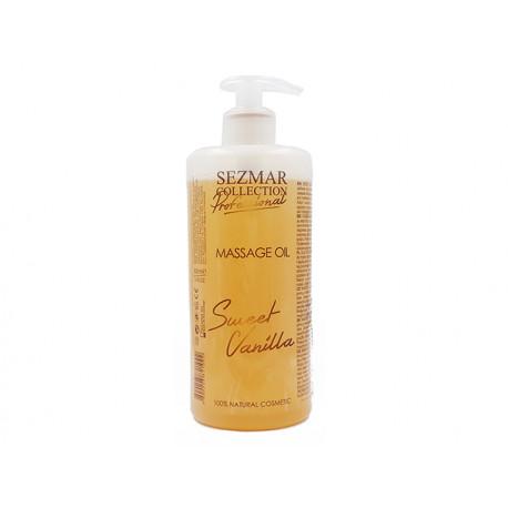 Sweet Vanilla Massage Oil, professional, Sezmar, 500 ml
