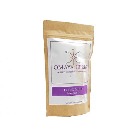 Lucid Mind, herbal tea, Omaya Herbs, 30 g
