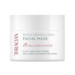 Rosa Damascena facial mask, Thracian, 100 ml