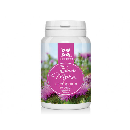 Milk thistle - extract, Panaceq, 90 capsules