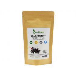 Elderberry, dried fruit, Zdravnitza, 100 g
