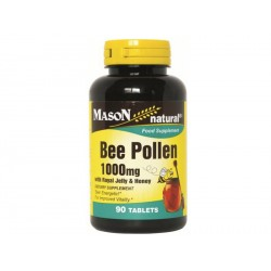 Bee Pollen - 1000 mg (with royal jelly and honey)