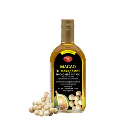 Масло от макадамия (студено пресовано) - 350 мл.