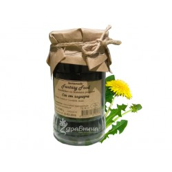 Dandelion syrup, homemade recipe, 350 g