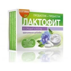 Лактофит, пробиотик+пребиотик - 30 капсули