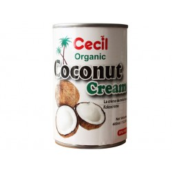 Organic coconut cream (400 ml)
