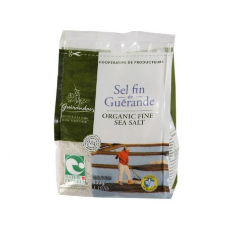 Органична Келтска (сива) сол - фина