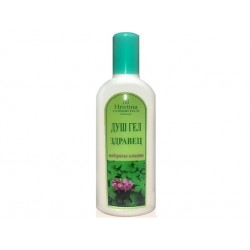 Nourishing shower gel with extract of geranium