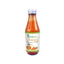 Sea buckthorn and honey juice (100% organic)