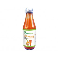 Sea buckthorn, carrot and honey juice (100% organic)